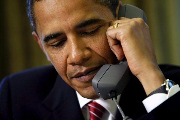 Президент США и канцлер Германии провели телефонные переговоры