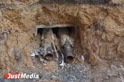 Следователи проводят проверку по факту обнаружения на Татищева пяти черепов
