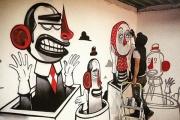 Известный уличный художник из Италии презентует Екатеринбургу свой двор