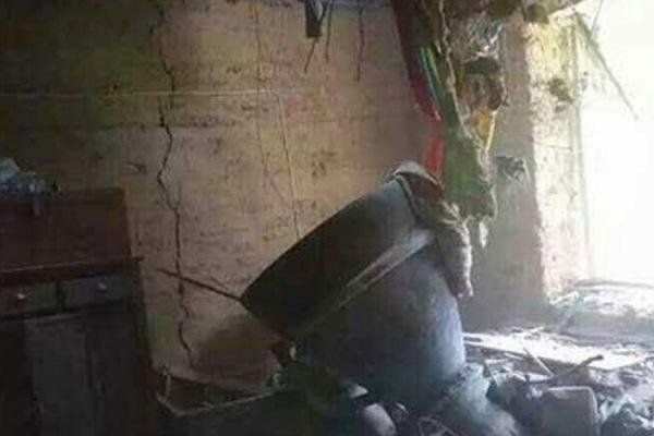 Обломок стартового ускорителя ракеты пробил крышу жилого дома в Китае