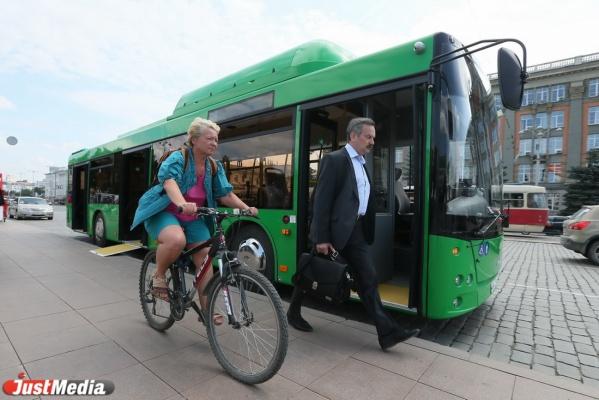 В Екатеринбурге зеленые автобусы из Белоруссии будут обслуживать шесть маршрутов. СПИСОК
