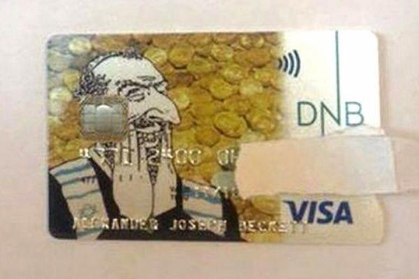 Норвежский банк DNB обвинили в антисемитизме из-за дизайна кредитной карты