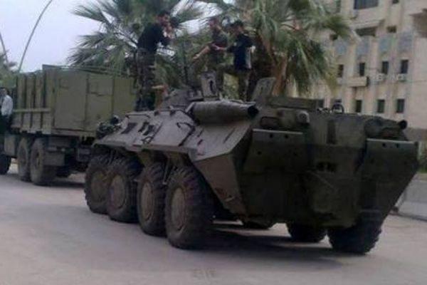 В МИД РФ заявили, что Россия не скрывает поставки военной техники властям Сирии