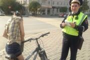 Будьте бдительны! ГИБДД устроила ловушку для пешеходов и велосипедистов в центре Екатеринбурга