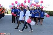 Свердловские первокурсники пройдут парадом по центру Екатеринбурга