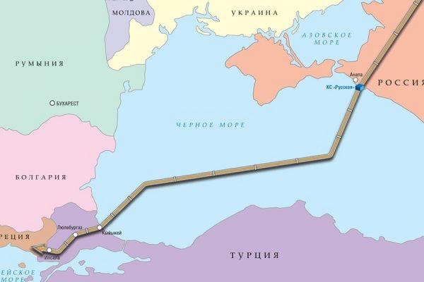 В «Газпроме» заявили о том, что запуск в «Турецкого потока» откладывается