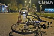 На Компрессорном водитель иномарки сбил на «зебре» ребенка-велосипедиста