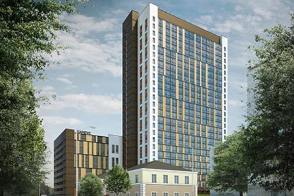 Апартаментный комплекс «Кампус» «потерял» шесть этажей. ОКОНЧАТЕЛЬНЫЙ ВАРИАНТ ПРОЕКТА