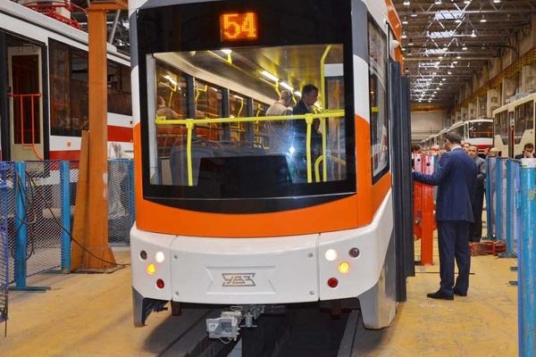 10 низкопольных трамваев «Уралтрансмаша», закупленных по федеральной программе, могут появиться в Екатеринбурге уже в этом году