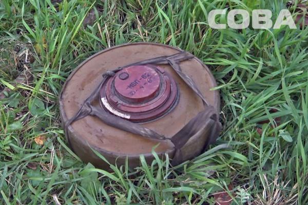 На крыше своей бани екатеринбуржец нашел мину