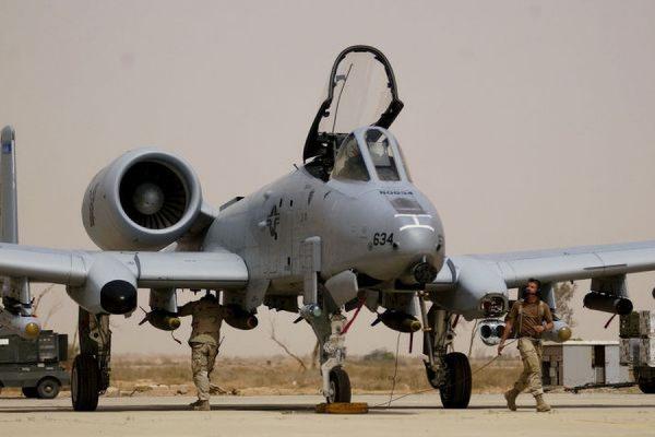 Часть американских штурмовиков А-10 разместят в Эстонии