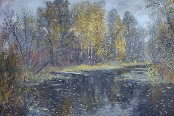 Известные художники запечатлели начало уральской осени
