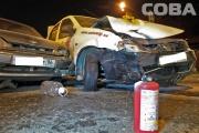 На Щорса-Московской пилот ВАЗа подбил машину такси «Автомиг». ФОТО