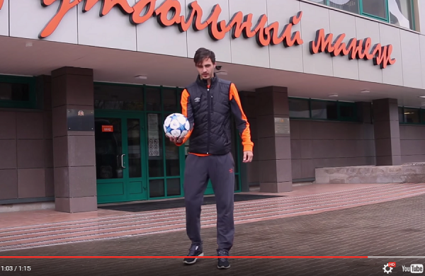 Ерохин снялся в видео-флешмобе со свердловскими студентами