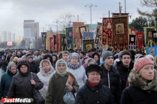 В Екатеринбург впервые привезут чудотворную Курскую Коренную икону Божией Матери «Знамение»