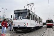 В выходные по проспекту Ленина не будут ходить трамваи