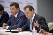 Куйвашев на форуме в Сочи предложил Медведеву сократить сроки расчетов монополий с поставщиками