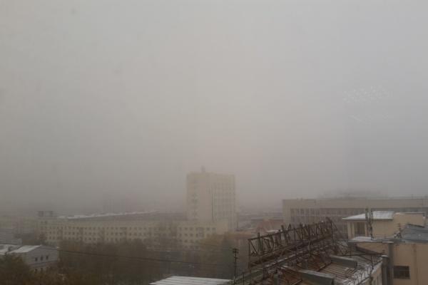 Несмотря на туман, екатеринбургский аэропорт принимает не только свои рейсы, но и тюменские