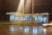 Хулиганы разбили стекла на станции метро «Ботаническая»
