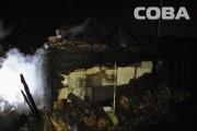 В поселке Совхозном в выходные сгорела баня