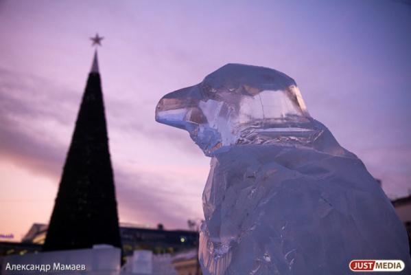 Первую праздничную елку в Екатеринбурге установят уже в конце октября