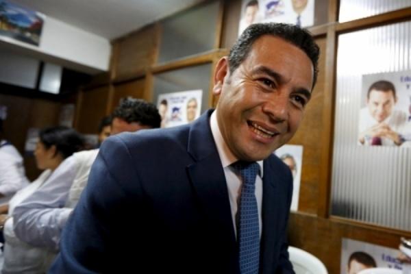 Новым президентом Гватемалы стал комедийный актер