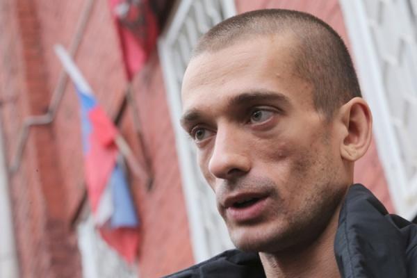 Художник Павленский задержан за попытку поджога в здании ФСБ