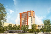 На Эльмаше построят девятнадцатиэтажный ЖК «Астория» с продуктовиком и кафе в советском стиле