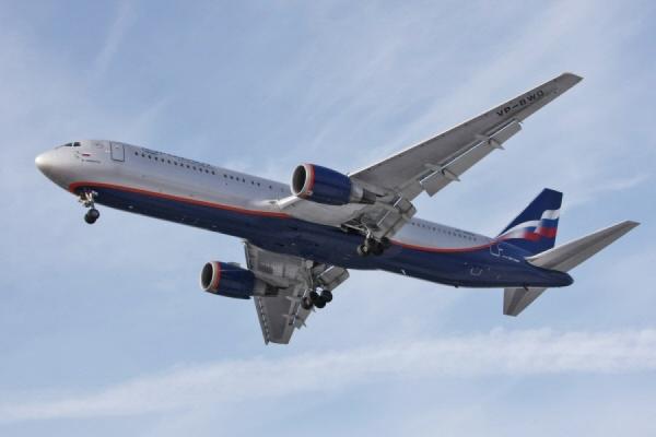 Самолет «Аэрофлота» совершил экстренную посадку в Новосибирске