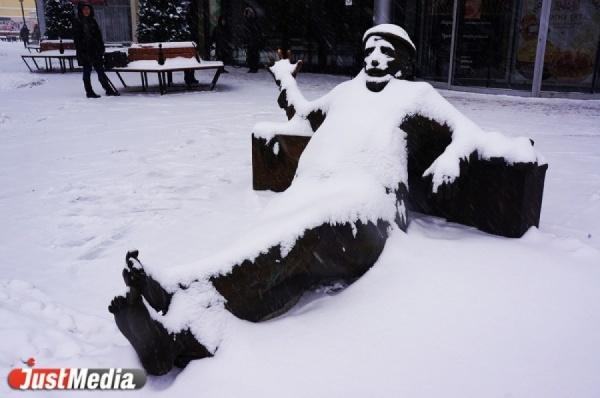 Синоптики обещают свердловчанам сильные снегопады и гололед