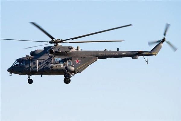 Вертолет Ми-8 упал в Красноярском крае