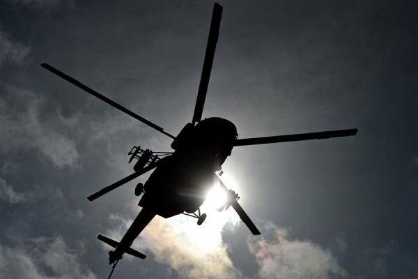 Вчера в Красноярском крае упал вертолет