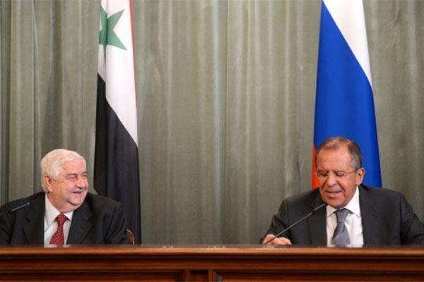 Сейчас проходит встреча между главами МИДов России и Сирии