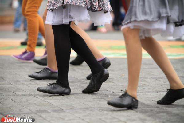 «Танцевальный марафон» стартовал в Екатеринбурге