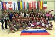 Гимнастки из Екатеринбурга завоевали серебряные медали на Кубке мира по эстетической гимнастике