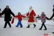 Уральцы начали получать поздравления от Деда Мороза