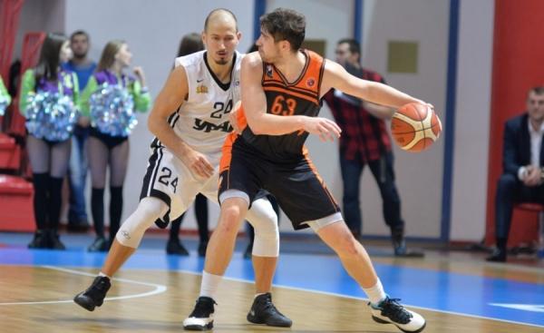 БК «Урал» обыграл в домашнем матче Суперлиги «Иркут»