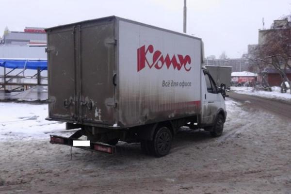 В Екатеринбурге водитель «Газели», двигаясь задним ходом, насмерть сбил пешехода