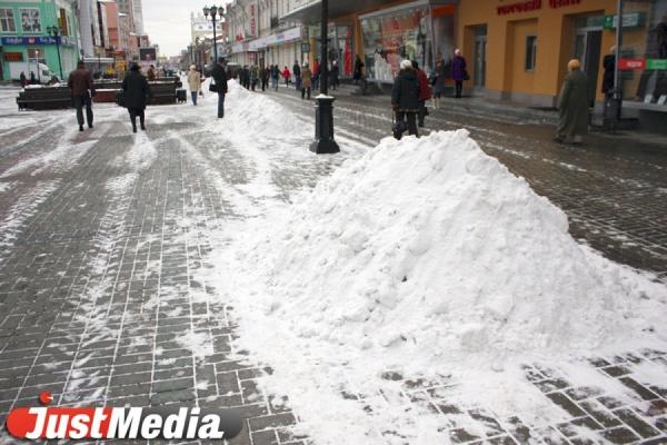 Мэрия пообещала финансово наказывать подрядчиков за плохую уборку снега