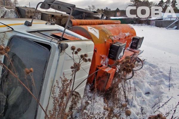 На Объездной дороге водитель бензовоза не справился с управлением и сбил пешехода