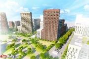На Широкой речке построят масштабный жилой микрорайон с прогулочными зонами и большим стадионом. ПРОЕКТ