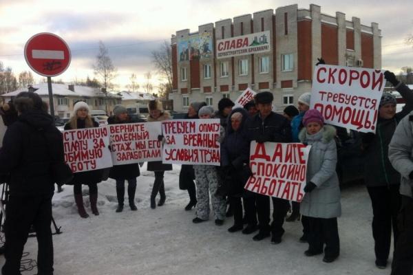 Свердловский минздрав обвинил работников качканарской скорой в политической провокации. ФОТО