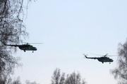 Военные летчики и спасатели заняли позиции по траектории старта «Союза ТМА-19М»