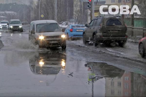 На Суходольской разлилось «озеро»: произошел порыв водопровода