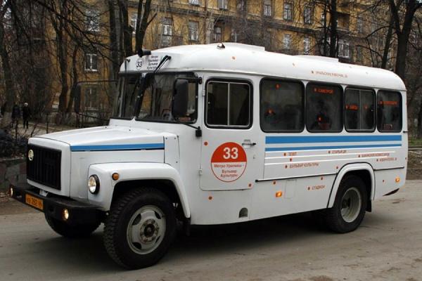 По Уралмашу проедет светящийся автобус