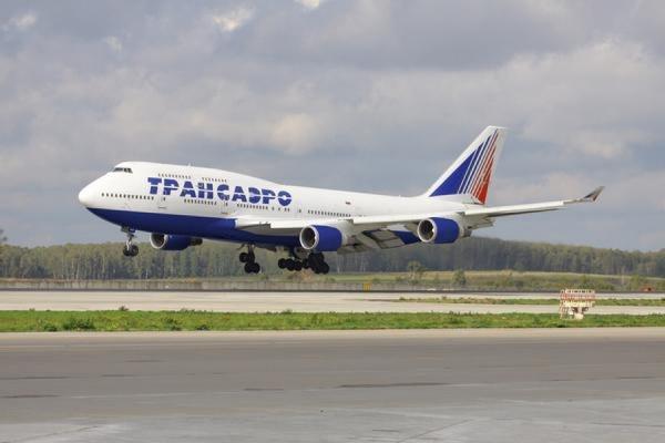 """Авиакомпания """"Трансаэро"""" оспорила в арбитраже отзыв Росавиацией сертификата эксплуатанта"""