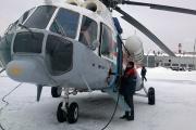 Свердловские спасатели отправили к перевалу Дятлова вертолет для эвакуации туриста