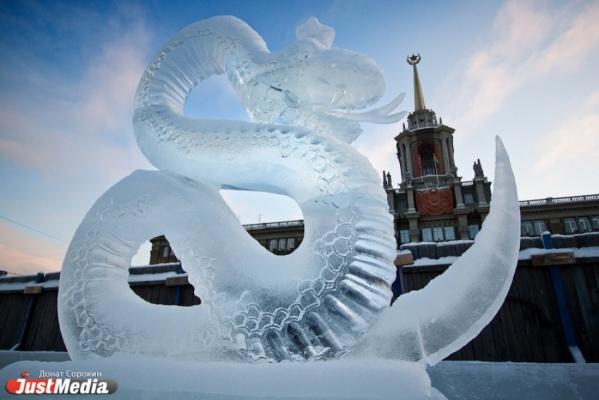 Ледовый городок на площади 1905 года в новогодние каникулы посетило более 150 тысяч человек