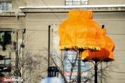 Яркие абажуры от Тимы Ради снова украсили центр Екатеринбурга