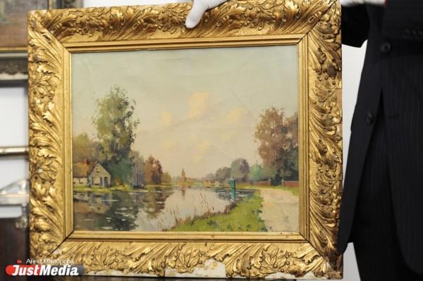 Музей истории Екатеринбурга презентовал уникальную картину из Голландии, подаренную щедрым горожанином